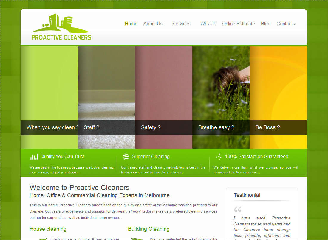 Proactive Cleaners Wondersoft Multimedia Solutions